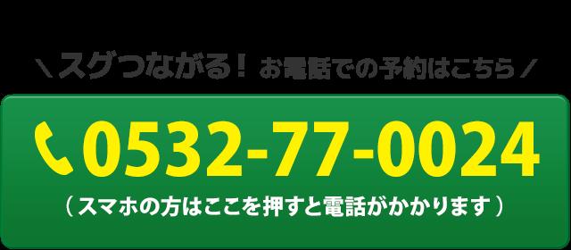 電話番号:0532-77-0024